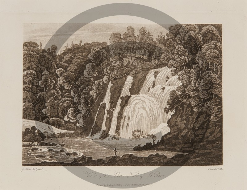 George Heriot-- View of the Lower Fall of La Puce