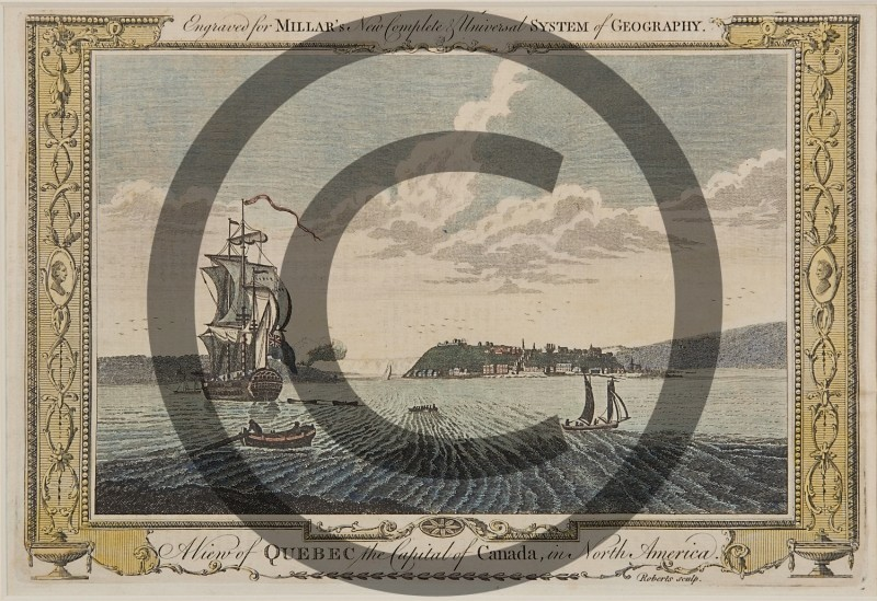 Francis Swaine after Capt. Hervey Smyth -- A view of Quebec the Capital of Canada in N. A.